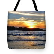Vancouver Island Sunset Tote Bag