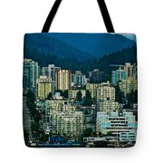 Vancouver Rooms With A View Tote Bag