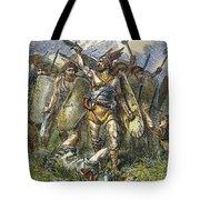 Vandal Invasion Of Rome Tote Bag