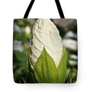 Vanilla Hibiscus Tote Bag