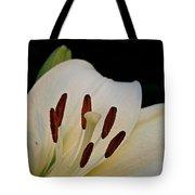 Vanilla Lily Tote Bag