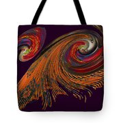 Variegated Abstract Tote Bag