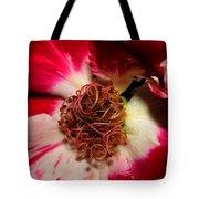 Variegated Rose Close Up 2011 Tote Bag