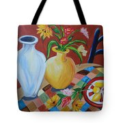Alice's Table Tote Bag