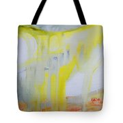 Vast Storm On The Mesa Tote Bag