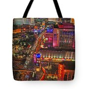 Vegas Strip Tote Bag