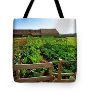 Vegetable Farm Tote Bag by Carlos Caetano