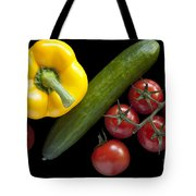 Veggie Composition Tote Bag