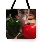 Veggies And Salt Tote Bag