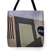 Vehicle Assembly Building Tote Bag