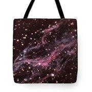 Veil Nebula In Cygnus Tote Bag