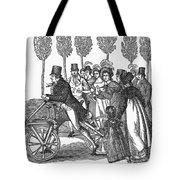 Velocipede, 1827 Tote Bag