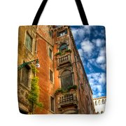 Venice Apartment  Tote Bag