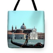 Venice From A Gandola Tote Bag