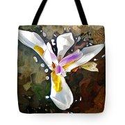 Venice Iris Tote Bag