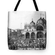 Venice: Saint Marks, 1797 Tote Bag