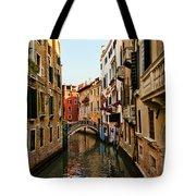 Venice Waterway Tote Bag