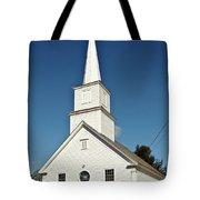 Vermont Church. Tote Bag