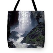Vernal Falls Spring Flow Tote Bag