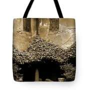 Verona Courtyard II In Sepia Tote Bag