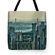 Verrazano From Manhattan Tote Bag