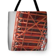 Vertebrae Of The Bridge Tote Bag