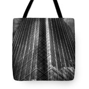 Vertical Horizon Tote Bag by Yhun Suarez
