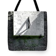 Vertical Sundial On Fenny Bentley Church Tote Bag