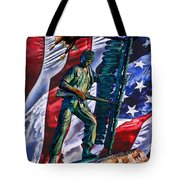 Veteran Warrior Tote Bag