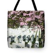 Veterans National Cemetery Tote Bag
