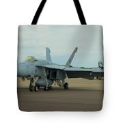 Vf-31 Tomcatters On Tarmac  Tote Bag