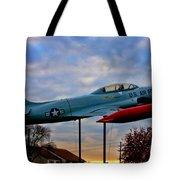 Vfw F-80 Shooting Star Tote Bag