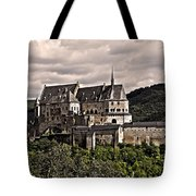 Vianden Castle - Luxembourg Tote Bag by Juergen Weiss