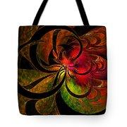 Vibrant Bloom Tote Bag