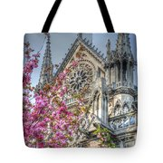 Vibrant Cathedral Tote Bag