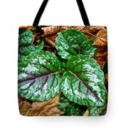 Vibrant Ground Cover  Tote Bag
