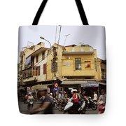 Vibrant Hanoi Tote Bag