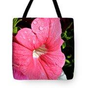 Vibrant Petunias Tote Bag