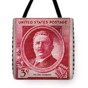 Victor Herbert Postage Stamp Tote Bag