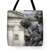 Victoria Memorial Fountain Tote Bag