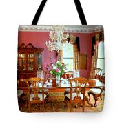 Victorian Dining Tote Bag