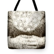 Victorian Hands Tote Bag