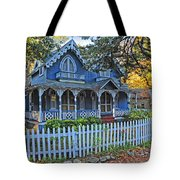 Victorian Home Marthas Vineyard Tote Bag