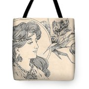 Victorian Lady - 1 Tote Bag