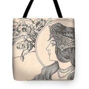 Victorian Lady - 2 Tote Bag
