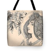 Victorian Lady - 4 Tote Bag