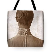Victorian Lady From Behind Tote Bag