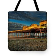 Victorian Pier Tote Bag by Adrian Evans