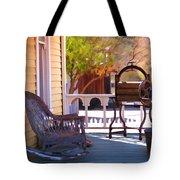 Victorian Porch Tote Bag