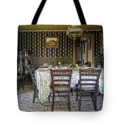 Victorian Sedman Home Dining Room - Nevada City Montana Tote Bag